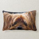 Cute Yorkshire Terrier Dog Pillow