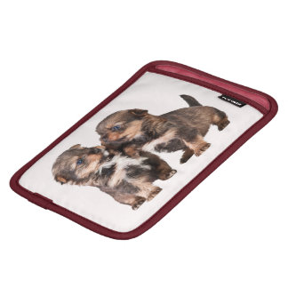 Cute Yorkshire Terrier Puppies iPad Mini Sleeve