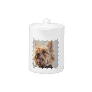 Cute Yorkshire Terrier Teapot