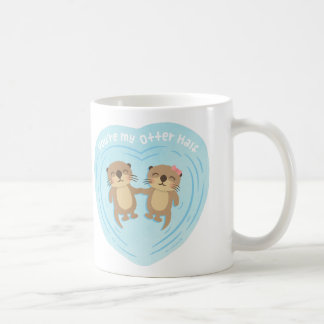 Cute You Are my Otter Half Love Pun Humor Mug
