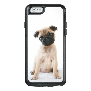 Cute Young Pug Dog Otterbox Iphone 6/6s Case by cutestbabyanimals at Zazzle
