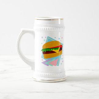 Cute Yummy Burger Beer Stein