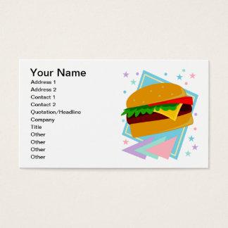 Cute Yummy Burger Business Card