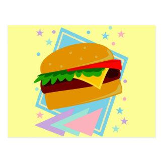 Cute Yummy Burger Postcards