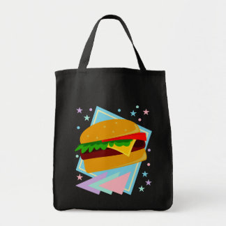Cute Yummy Burger Tote Bag