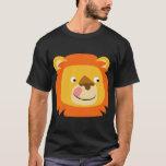 Cute Yummy Cartoon Lion T-Shirt