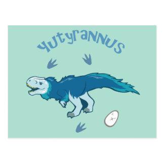 Cute Yutyrannus Postcard
