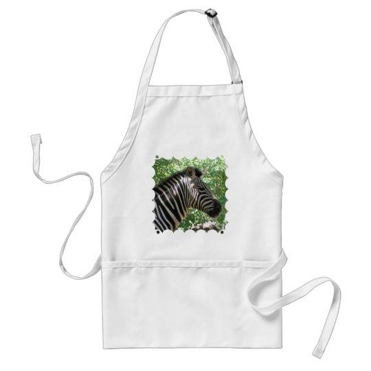 Cute Zebra Apron