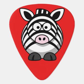 Cute Zebra Guitar Pick