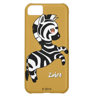 Cute Zebra iPhone 5C Cover