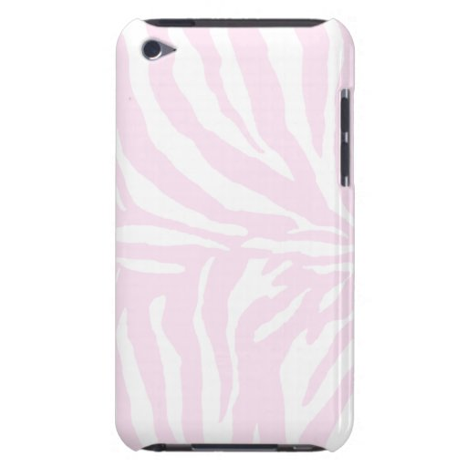 Cute Zebra iPod Barely There Pink Barely There iPod Covers