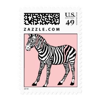 Cute Zebra Postage