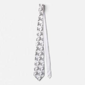 Cute Zebra Tie
