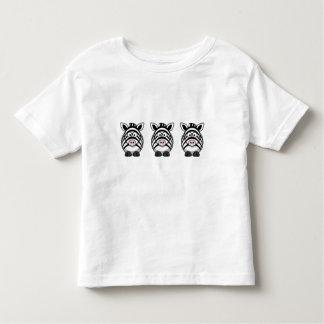 Cute Zebra Toddler T-shirt