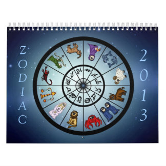 cute Zodiac Calendar 2013