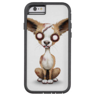 Cute Zombie Chihuahua Puppy Dog White Tough Xtreme iPhone 6 Case