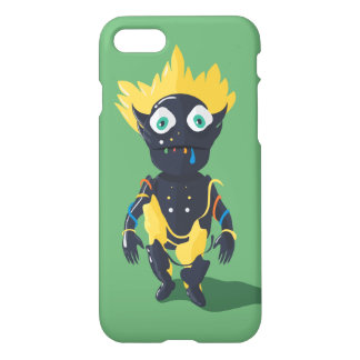 Cute Zombie Custom iPhone 7 Glossy Case