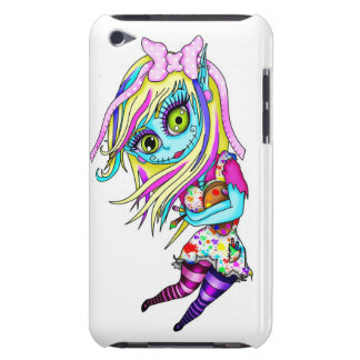 Cute Zombie Doll Barely There iPod Covers