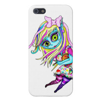 Cute Zombie Doll Case For iPhone SE/5/5s
