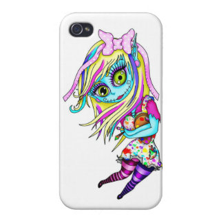 Cute Zombie Doll iPhone 4/4S Covers