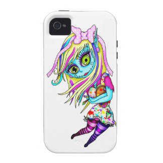 Cute Zombie Doll Vibe iPhone 4 Covers