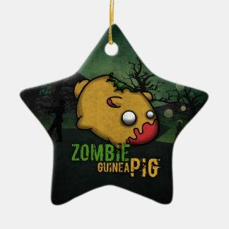 Cute Zombie Guinea Pig Ceramic Ornament