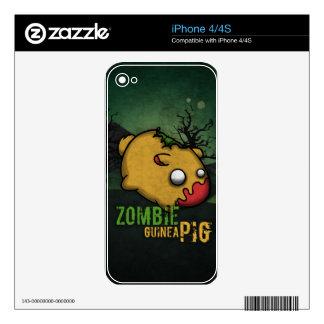 Cute Zombie Guinea Pig iPhone 4 Skin