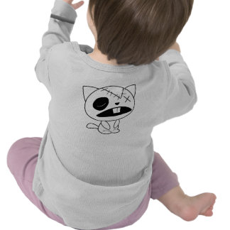 Cute Zombie Kitty Cat Shirt
