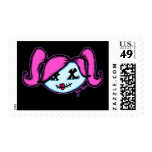 Cute Zombie (on dark background) Stamps