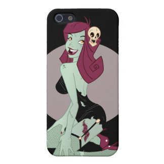 Cute Zombie Pin-Up Girl Case For iPhone SE/5/5s