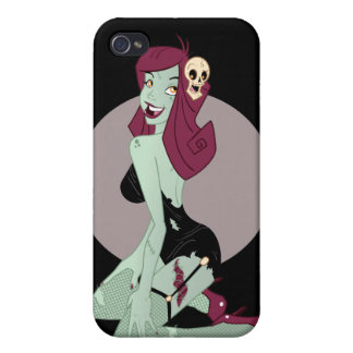Cute Zombie Pin-Up Girl iPhone 4 Covers