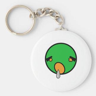 cute zombie t-shirt keychain