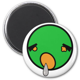 cute zombie t-shirt 2 inch round magnet