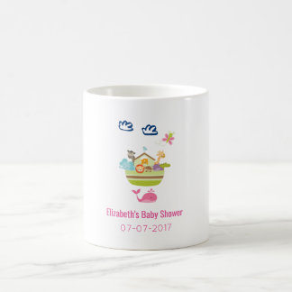 Cute Zoo Animal Ark Birth baby Shower Coffee Mug