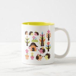 CuteHedgehog1 Classic White Coffee Mug