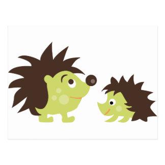 CuteHedgehog3 Tarjeta Postal