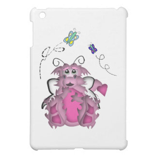 CuteLittle  Butterfly Baby Dragon Girl iPad Mini Cover