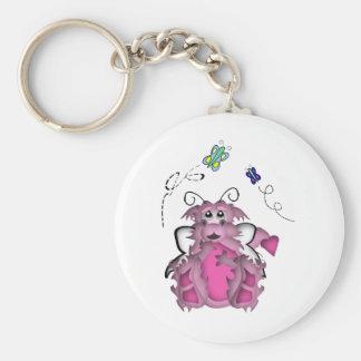 CuteLittle  Butterfly Baby Dragon Girl Keychain