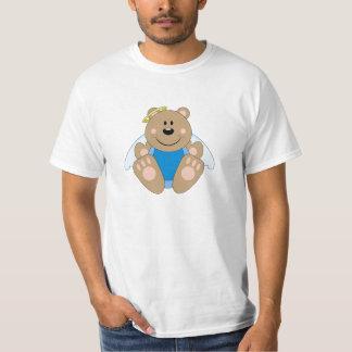 Cutelyn Baby Boy Angel Bear T-Shirt
