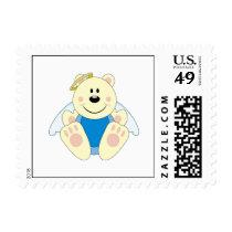 Cutelyn Baby Boy Angel Polar Bear Postage