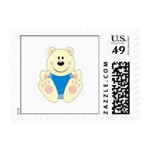 Cutelyn Baby Boy Polar Bear Postage