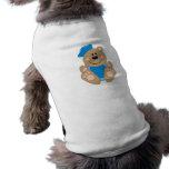 Cutelyn Baby Boy Sailor Bear Doggie Shirt