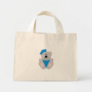 Cutelyn Baby Boy Sailor Koala Bear Mini Tote Bag