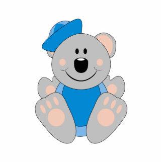 Cutelyn Baby Boy Sailor Koala Bear Photo Cut Outs