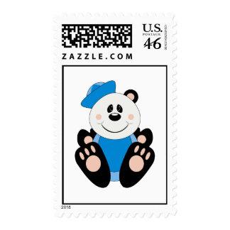 Cutelyn Baby Boy Sailor Panda Bear Postage