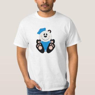 Cutelyn Baby Boy Sailor Panda Bear T-Shirt