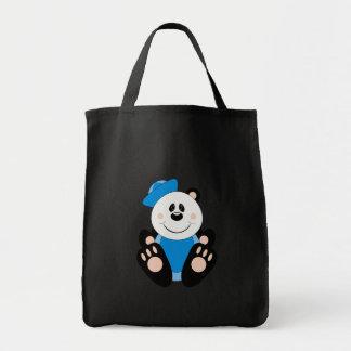 Cutelyn Baby Boy Sailor Panda Bear Tote Bag