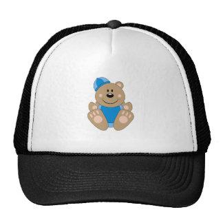 Cutelyn Baby Boy Snow Bear Trucker Hat