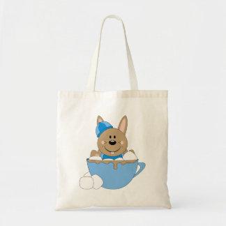 Cutelyn Baby Boy Snow Bunny Mug Bag