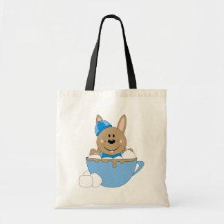 Cutelyn Baby Boy Snow Bunny Mug Canvas Bags